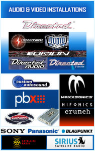 Car Audio and Visual Installations