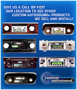 Custom Classic Car Stereo Installation