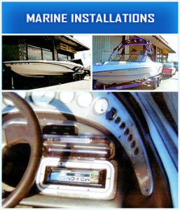Boat Stereo Installations