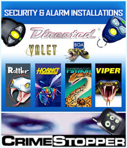 Car Security Alarm Installations